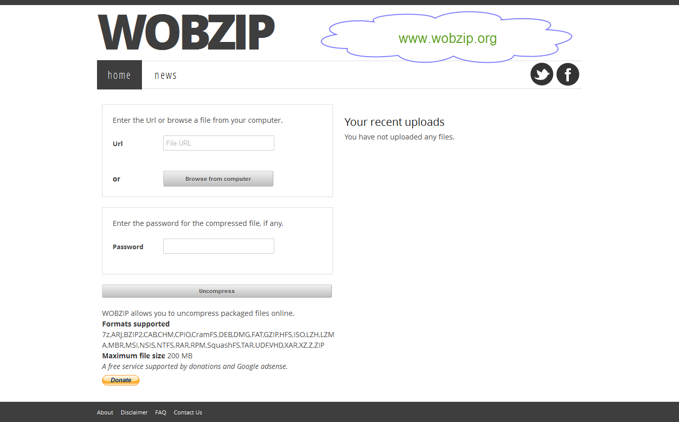 wobzip main page